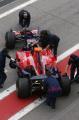 图文:F1西班牙试车结束 里尤兹结束测试