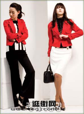 服装:夹克搭配 异样女人味(5款)