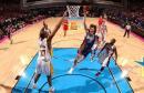NBA图:07全明星新秀赛 莫里森上篮