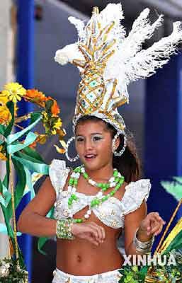 里约热内卢狂欢节正式拉开帷幕(组图)