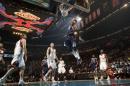 NBA图:全明星赛赌城开战 卡特飞龙在天