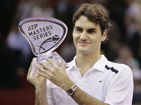 最新男子单打网球选手世界排名 费德勒高居榜首