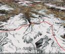 乔戈里峰卫星图(二)