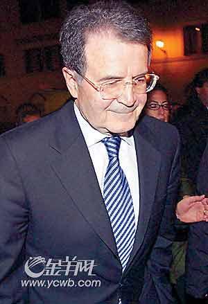 意总理普罗迪外交政策未获认可宣布辞职(图)