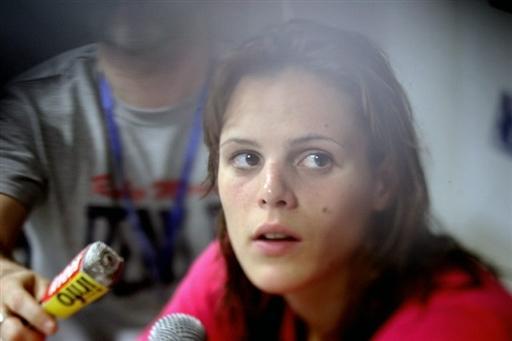 法国游泳美女道出世锦赛目标 为08战斗到底(图)