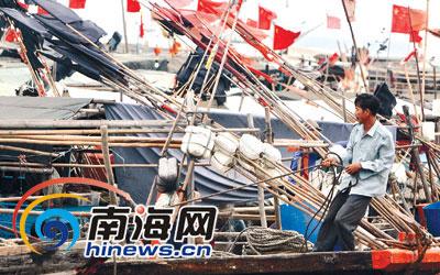 渔民祈丰收(图)