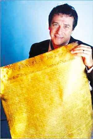 美国技师买到《独立宣言》孤本 有184年历史(图)