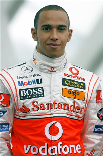 2007赛季车手资料 迈凯轮车手汉密尔顿
