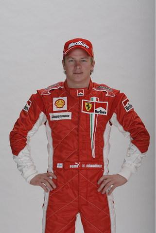 2007赛季车手资料 法拉利车队车手莱科宁