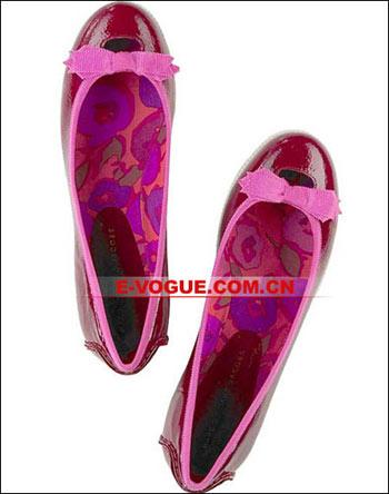 靓鞋:本季热潮 玲珑平底鞋(5款)