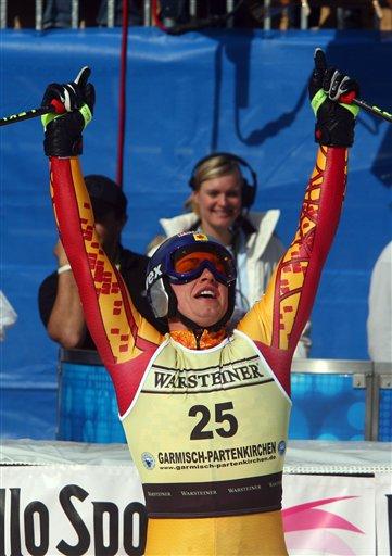 图文:德国滑雪世界杯 加拿大艾利克喜获金牌