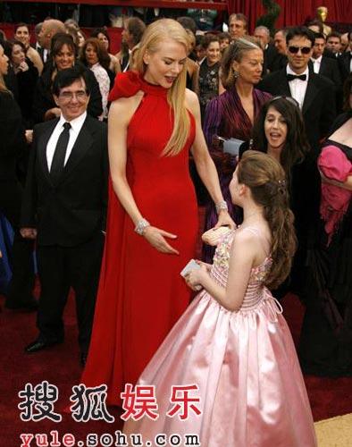 图:妮可-基德曼和《阳光小美女》阿比盖尔