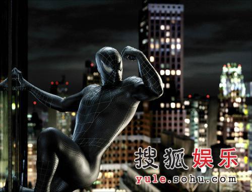 组图:《蜘蛛侠3》最新剧照及电脑效果图曝光
