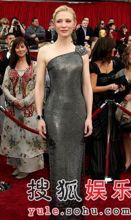 图:澳洲演技派女星凯特-布兰切特优雅高贵