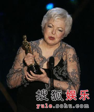 图:史高米卡凭《无间道风云》获最佳剪辑奖