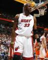 NBA图:热火胜骑士  莫宁发出怒吼