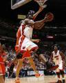 NBA图:热火胜骑士  哈斯勒姆拉杆上篮