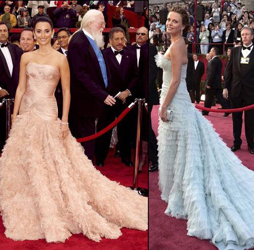 《纽约时报》评红毯:豪无新意的服装模仿秀?