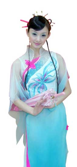春晚舞蹈《小城雨巷》 17岁领舞少女走红(图)