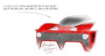 把F1赛车开上公路 09款法拉利F70预览