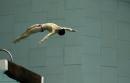 图文:中国跳水队将出征世锦赛 火亮在训练中