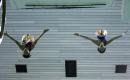 图文:中国跳水队将出征世锦赛 贾童在训练中