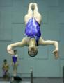 图文:中国跳水队将出征世锦赛 吴敏霞在训练中