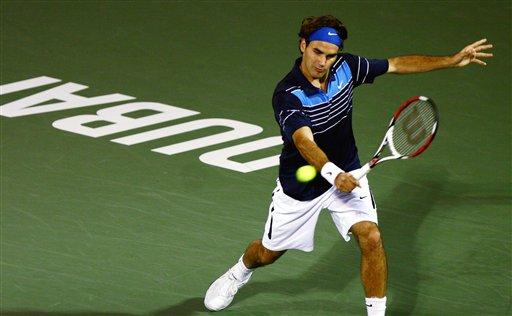 ATP迪拜赛-费德勒纳达尔进八强 达维登科遭淘汰