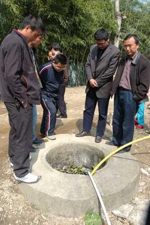 江西一村庄7人死于肝病 村民疑是井水问题(图)
