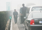 浓雾频繁笼罩京城