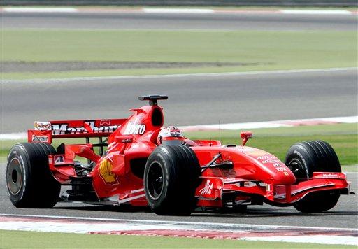 图文:F1巴林测试赛最后一日 莱科宁平稳前进