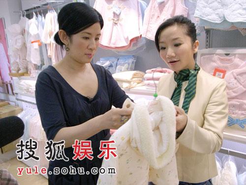 组图:陶子计划再怀孕 吴君如称喂母乳太辛苦