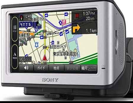 最后的杰作 索尼推出车载GPS导航仪新品