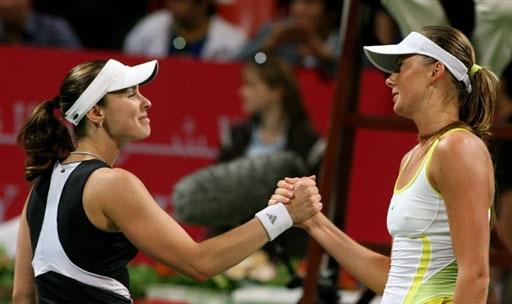 WTA多哈赛-海宁幸运逃过赛点 辛吉斯不幸遭逆转