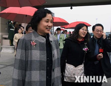 来自重庆的委员抵京