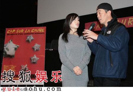 组图:顾长卫蒋雯丽夫妻双双出席法国电影节