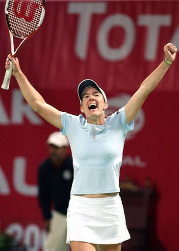 WTA多哈赛-海宁2-1胜扬科维奇 决赛对阵库兹娃