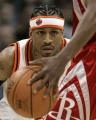NBA图:火箭VS掘金 艾弗森虎视眈眈