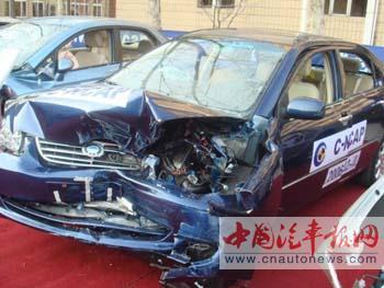 C-NCAP碰撞试验 自主品牌安全性有保证
