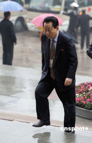 朝鲜驻华大使旁听全国政协十届五次会议开幕会