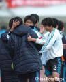 图文:[中超]长沙金德0-1大连 实德队员庆祝胜利