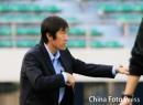 图文:[中超]厦门蓝狮1-3长春 高洪波临阵指挥
