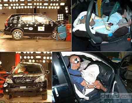 本田CR-V换代安全性一览 新老车型对比