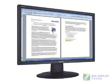 飞利浦推出22英寸宽屏液晶220WS8