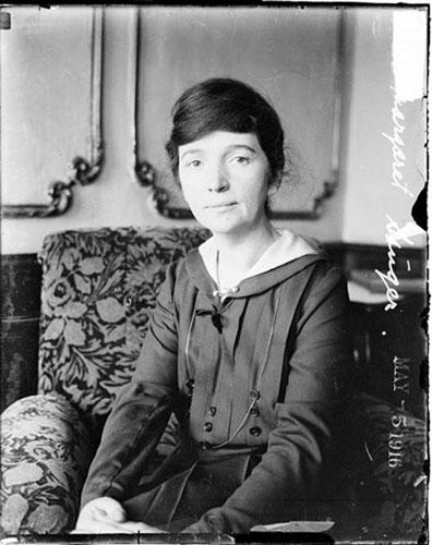 创办世界首家节育诊所的玛格丽特·桑格