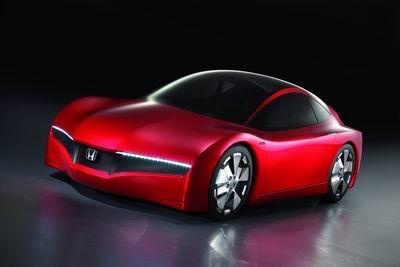 [日内瓦车展]Honda小型混合动力概念车