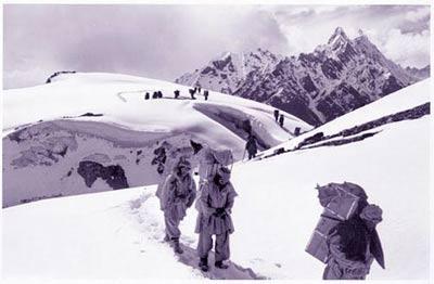 加舒布鲁木I峰-当年的攀登
