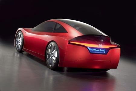 钟情混合动力 本田推出小型环保概念车