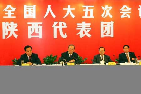 两会分组讨论:陕西代表审议政府工作报告