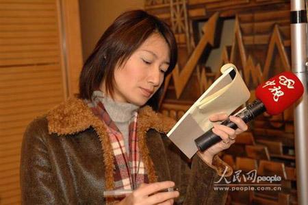 上海代表团开放日:采访记者